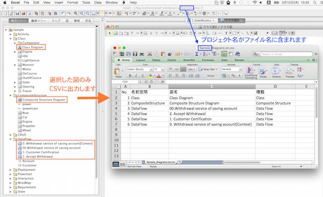 Astah_diagram_list_CSV_plugin 3
