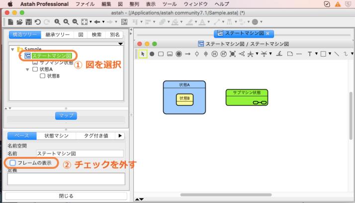 UML図フレーム