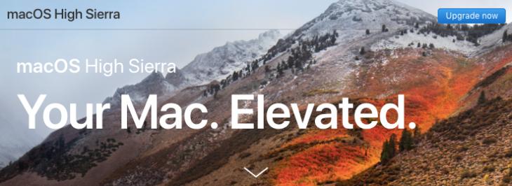 修正済)macOS High Sierra環境で...
