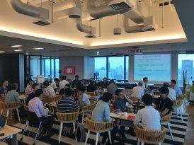 会場は、グランフロント大阪37階にある、Yahoo!オフィスをお借りしました